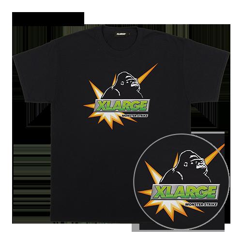 〈XLARGE × MONSTER STRIKE〉コラボTシャツ ロゴOG
