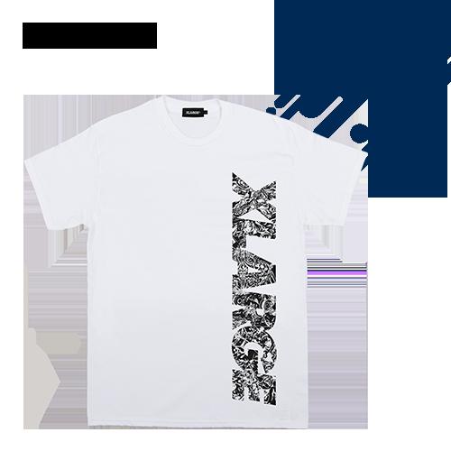 〈XLARGE × MONSTER STRIKE〉コラボTシャツ キャラクターロゴ