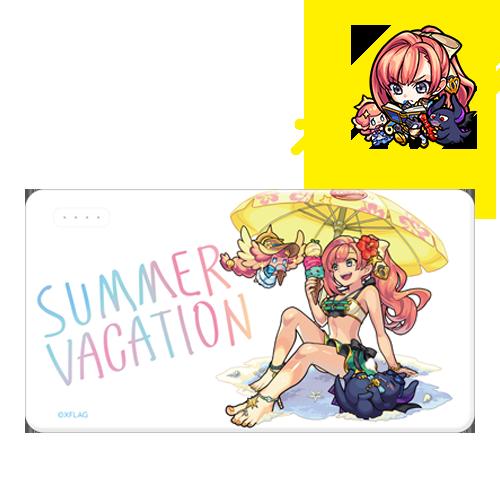 モバイルバッテリー ソロモン summer ver.