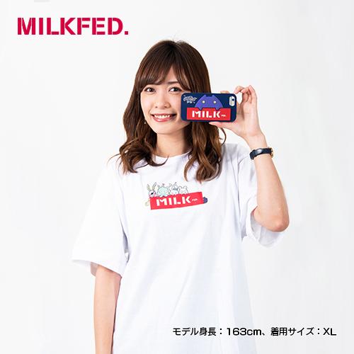 〈MILKFED. × MONSTER STRIKE〉コラボTシャツ おともパーティー
