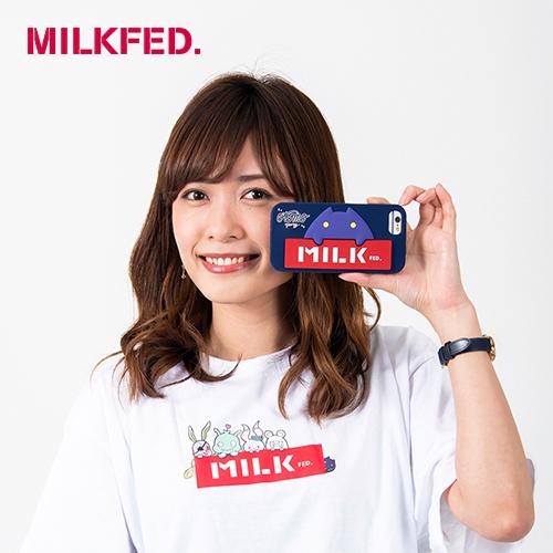〈MILKFED. × MONSTER STRIKE〉コラボiPhoneケース 6/6s/7/8 おともパーティー